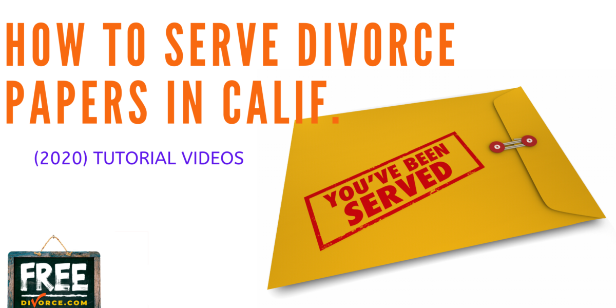 Video #11 - How To Serve Your Court Papers