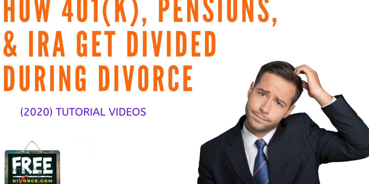 Video #17 - Getting Educated - Division of Retirement Assets PART 3