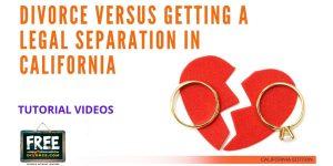 Video #03 - Legal Separation vs. Divorce