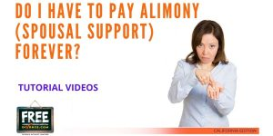 Video #36 - Getting Educated - Spousal Support PART 6 (Duration of Spousal Support)