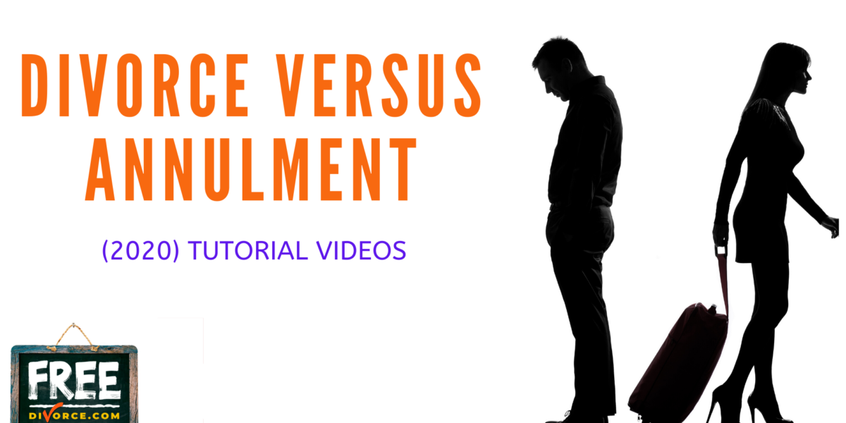 Video #04 - Divorce vs. Annulment