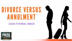 Video #04 - Divorce vs. Annulment