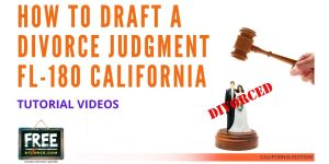 Video #40 - Divorce Judgment PART 1 (Two Approaches)
