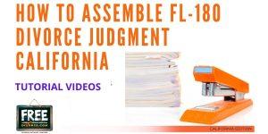 Video #44 - Divorce Judgment PART 5 (Assembling Your Judgment)