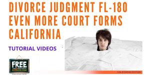 Video #46 - Divorce Judgment PART 7 (More Additional Forms)