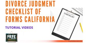 Video #47 - Divorce Judgment PART 8 (Filing Your Judgment)