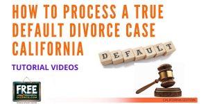 Video #49 - True Default Case PART 1