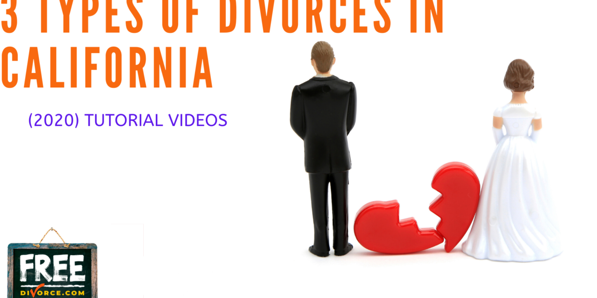 Video #06 - Different Types of Divorces