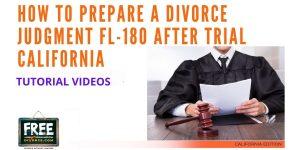 Video #61 - Preparing a Post Trial Judgment