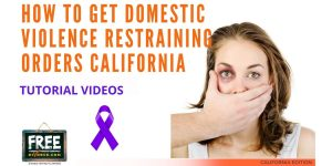 Video #66 - Domestic Violence Restraining Orders PART 1 (Introduction)